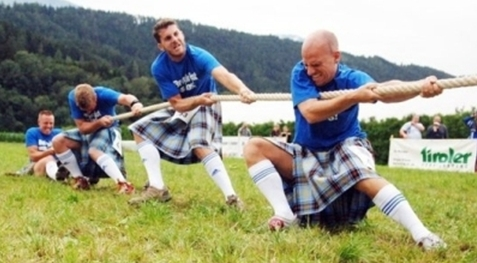 Waldknöpfe Highland Games 2012